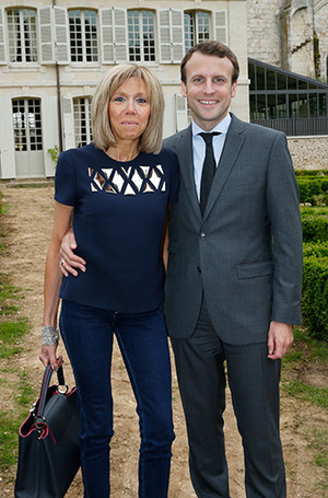Фото №6 - Брижит Макрон: женщина, стоящая за президентом Франции