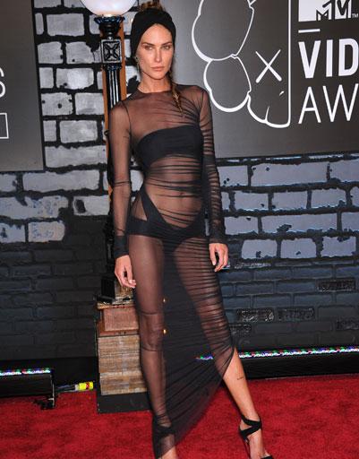 Эрин Уоссон (Erin Wasson) на MTV VMA 2013