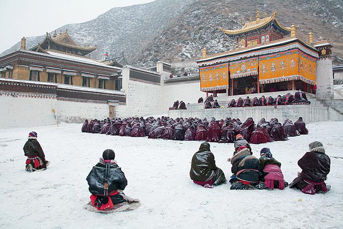 Фото №1 - Дорогами Будды: репортаж из новогоднего Тибета