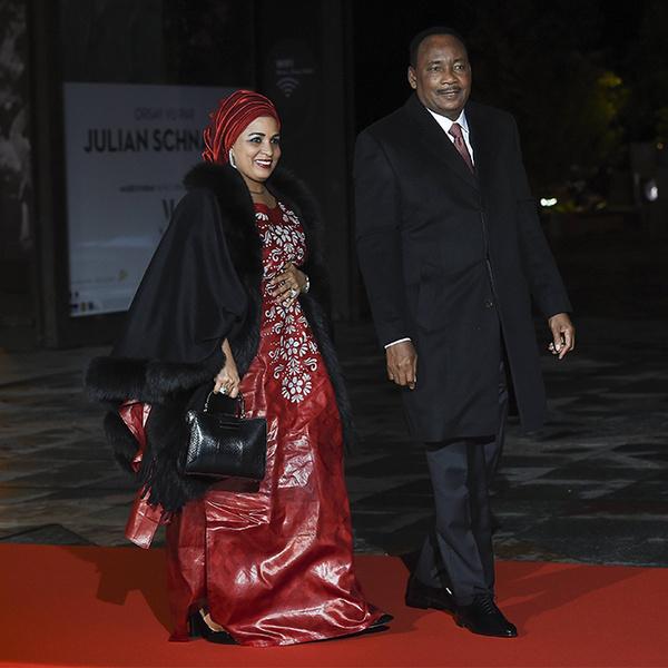 Фото №25 - Боги политического Олимпа: президенты и их жены на званом ужине в Париже