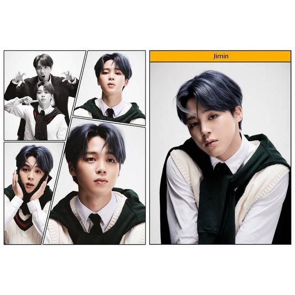 Фото №6 - RM из Слизерина, Джин из Гриффиндора: новые фотографии BTS для «Map Of The Soul: 7»