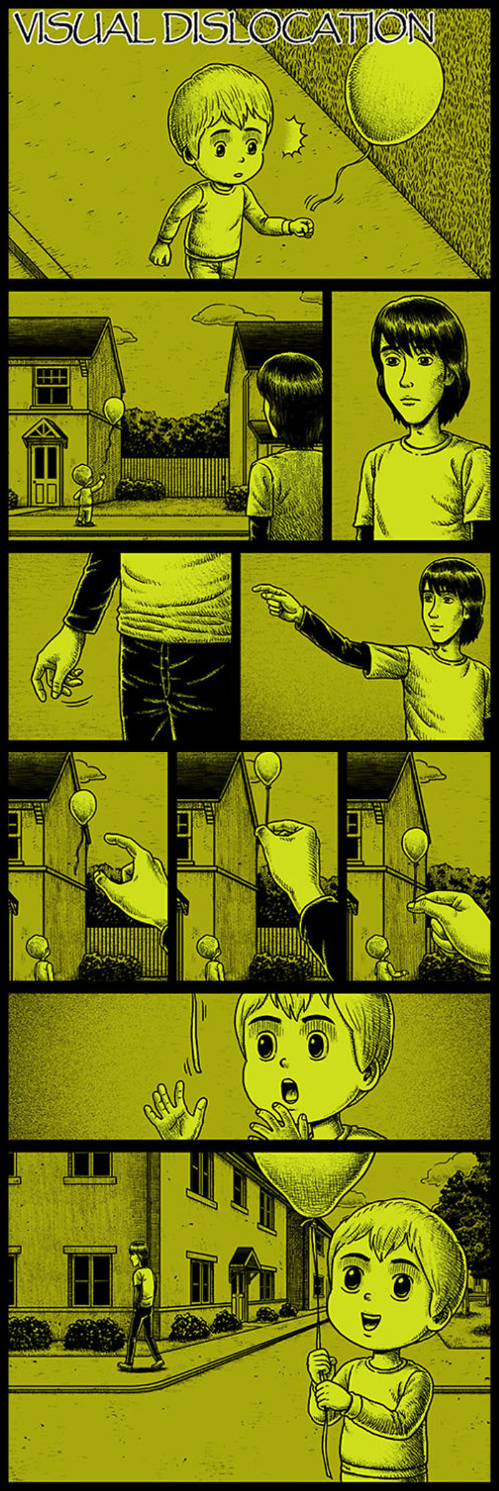 Фото №10 - 30 комиксов с отборным черным юмором от Бена Чена