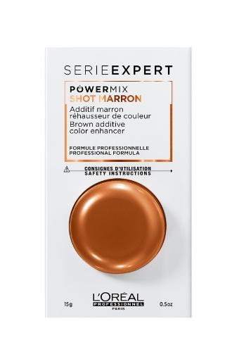 Флюид-добавка для волос для поддержания оттенка окрашивания L'OREAL SERIE EXPERT POWERMIX SHOT MARRON