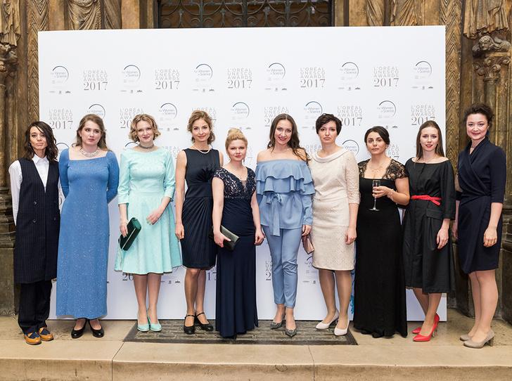 Фото №1 - В Москве вручили стипендии L'Oreal-Unesco «Для женщин в науке»