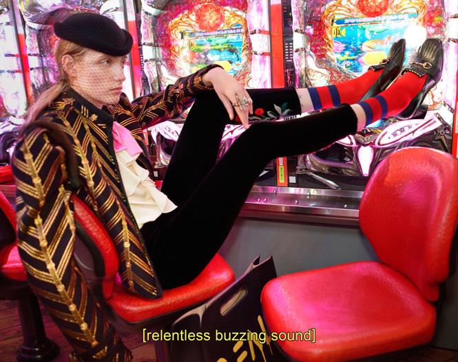 Фото №8 - Японское приключение Петры Коллинс и Ко: новая кампания Gucci