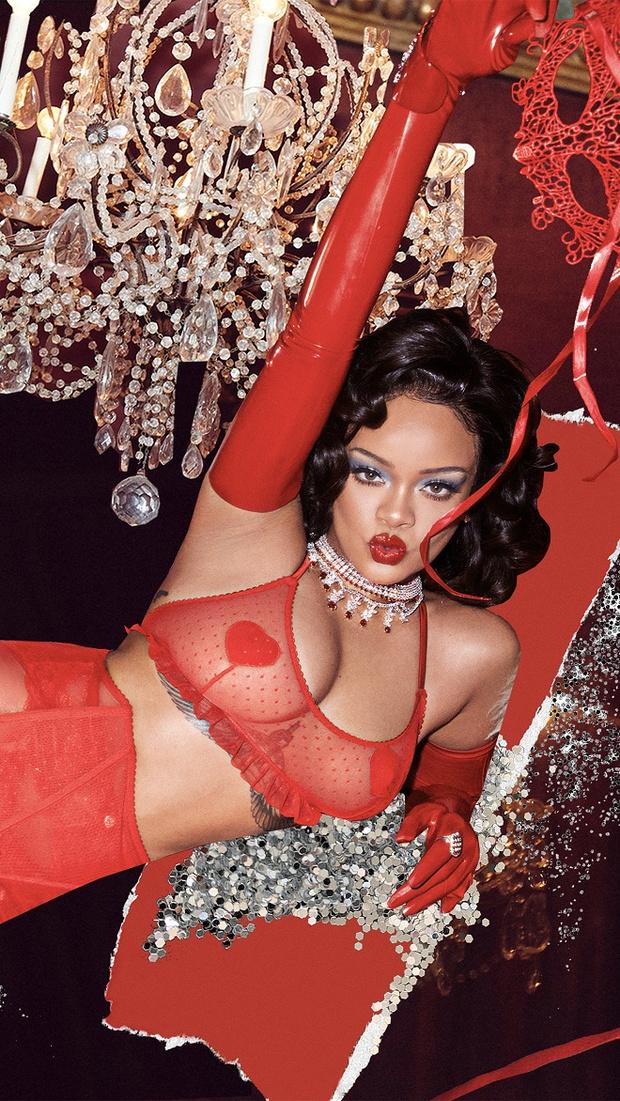 Рианна выпустила самую сексуальную коллекцию белья