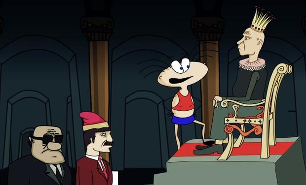 Фото №1 - Масяня пытается убрать царя с трона в новом злободневном выпуске мультсериала (видео)