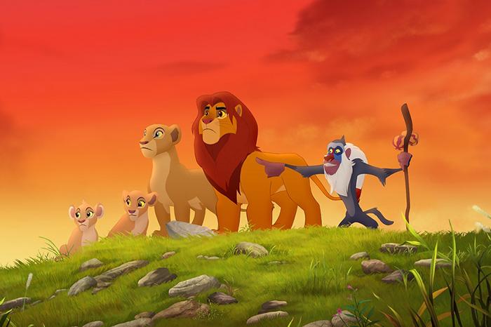 Фото №1 - Канал Disney представляет наследника Короля Льва!