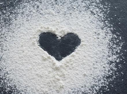 Сахарное сердечко