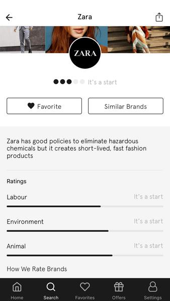 Фото №1 - Приложение дня: Проверь, насколько безопасен для планеты твой любимый бренд одежды