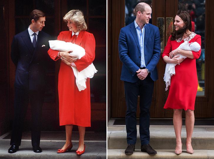 Фото №2 - Материнские инстинкты: в чем Кейт Миддлтон копирует принцессу Диану