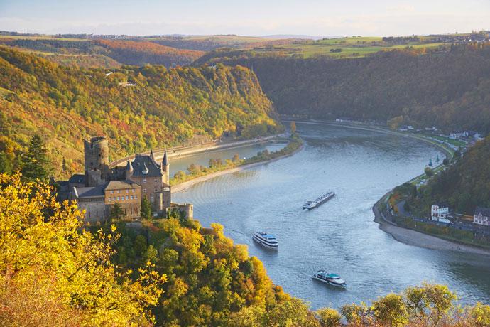 Рейн, Европа
