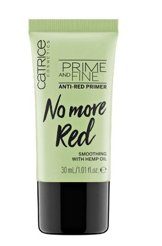 Праймер против покраснений PRIME AND FINE ANTI-RED PRIMER от Catrice
