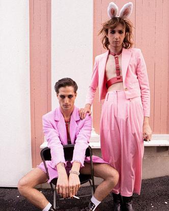 Фото №6 - Самая модная группа нашего времени: разбираем яркий и безумный стиль Maneskin