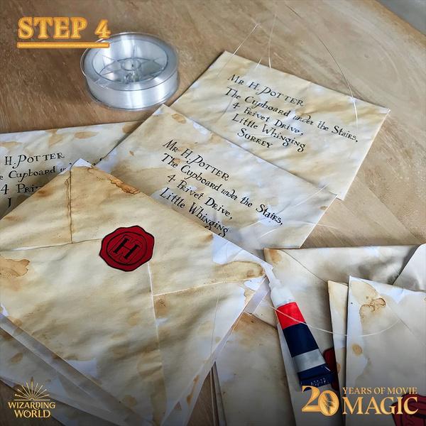 Фото №6 - DIY: как сделать себе письмо из Хогвартса 🦉