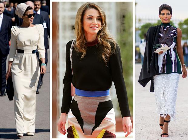 Фото №1 - Самые стильные королевские особы арабского мира