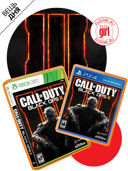 Новая игра Call Of Duty Black Ops III