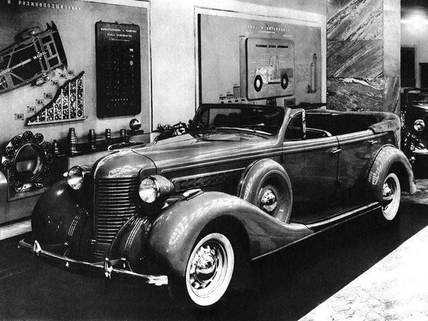Фото №4 - На зависть капиталистам: 5 самых роскошных советских автомобилей