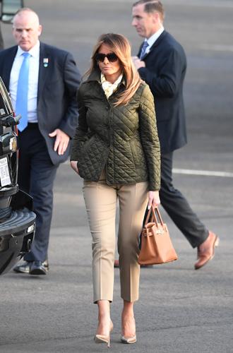 Фото №5 - Во сколько оценивается коллекция сумок Birkin Мелании Трамп?