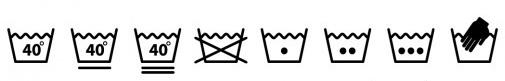 Фото №1 - Эти загадочные символы: что означают символы на ярлыках одежды