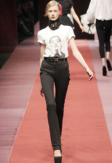 Фото №2 - Показ D&G на Неделе Моды в Милане