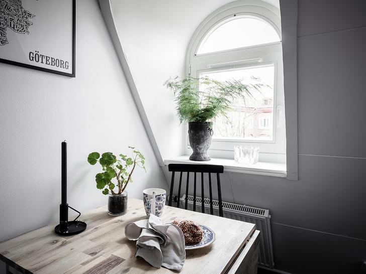 Фото №8 - Маленькая, но уютная мансарда в Швеции