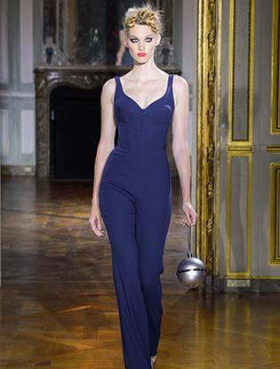 Фото №28 - Неделя Высокой моды в Париже: Ulyana Sergeenko Couture F2015