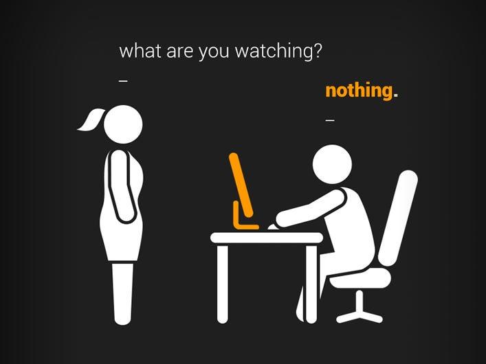 Фото №1 - Устройство, которое переключает твой экран, когда кто-то проходит мимо