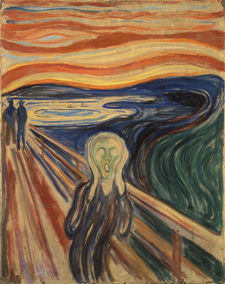 Фото №1 - Названа причина разрушения картины «Крик»
