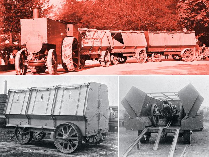 Фото №2 - Прототанки: самые сумасшедшие танки в истории