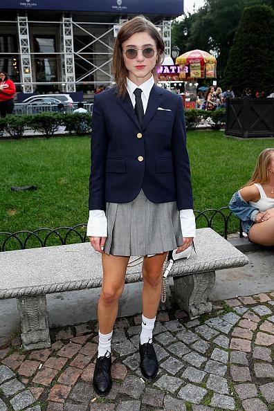 Фото №4 - Одеваемся как Нэнси: 5 школьных образов от Наталии Дайер