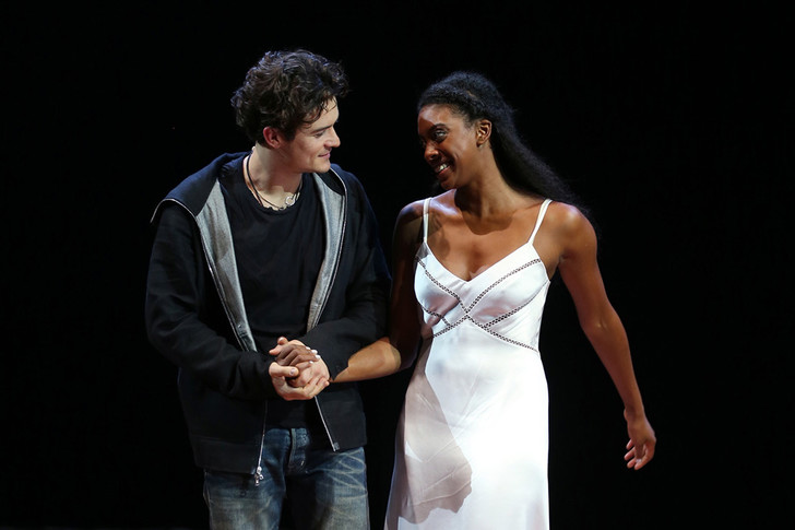 "Орландо Блум (Orlando Bloom),Кондола Рашад (Condola Rashad), ""Ромео и Джульетта"", Бродвей, театр"