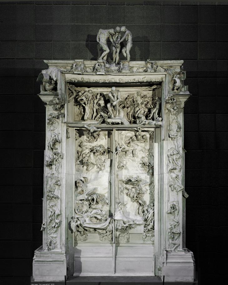 Фото №1 - Восставшие из ада: «Мыслитель» Родена и покинувший «Врата ада»