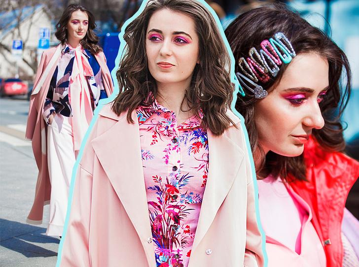 Фото №1 - Розовый гардероб: 5 образов в стиле total pink на каждый день