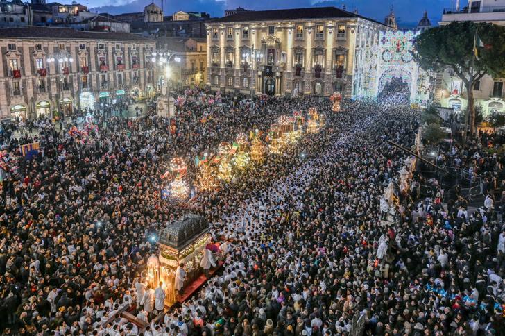 Фото №1 - Праздник святой Агаты на Сицилии