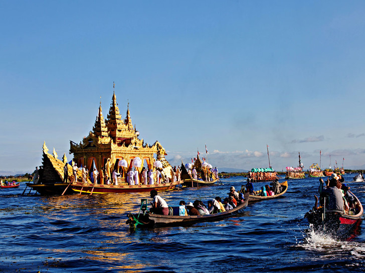Фото №1 - Традиции: Мьянма