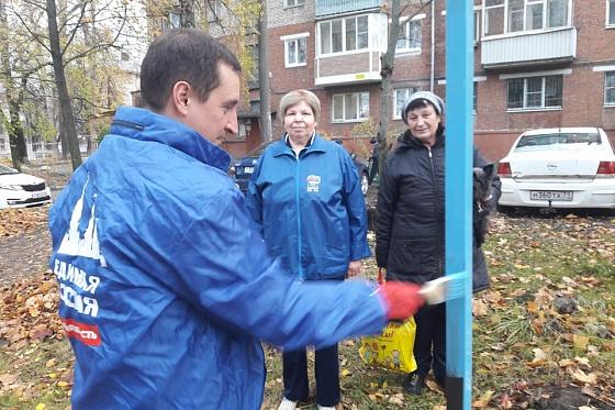 Фото №2 - В Туле депутат «Единой России» открыл для местных жителей сушилку для белья (фото)