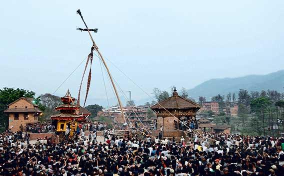 Фото №2 - Новый год в Непале