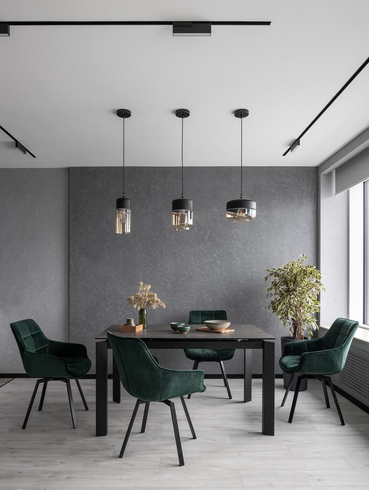Фото №8 - Графика и минимализм: квартира для студента в Уфе 76 м²