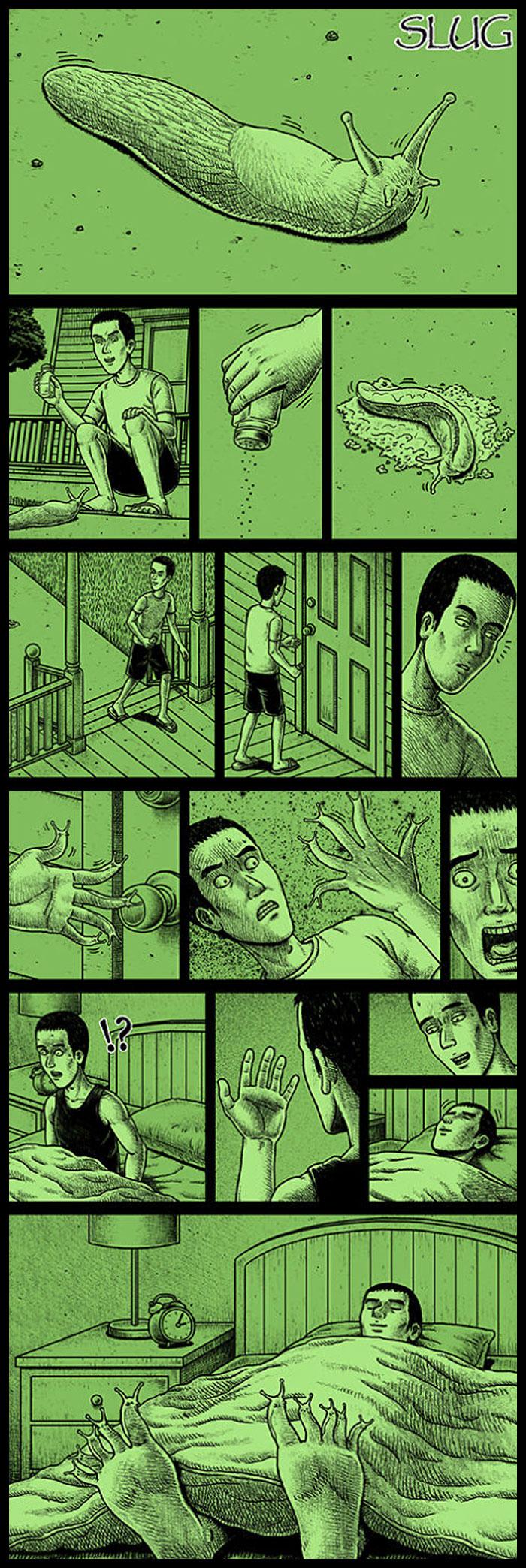 Фото №29 - 30 комиксов с отборным черным юмором от Бена Чена