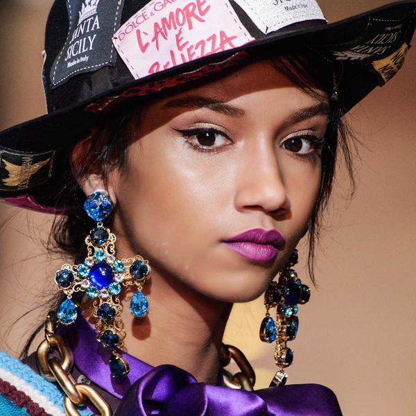 Фото №1 - Бьюти-тренд: повторяем макияж с показа Dolce & Gabbana