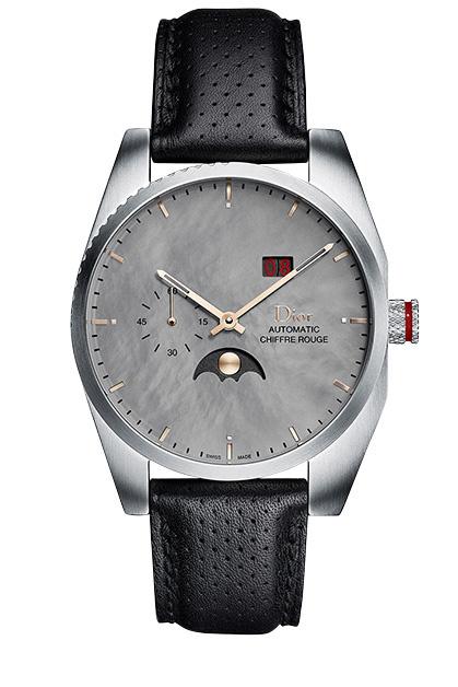 Часы Chiffre Rouge C03, перламутр, розовое золото, сталь, Dior.