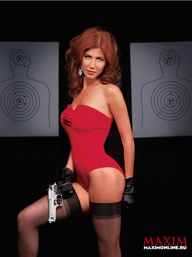 Фото №1 - Анна Чапман— шпионка, которая всех соблазнила (юбилей фотосессии)