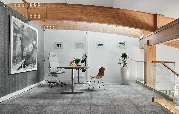 Фото №8 - Уютный офис в скандинавском стиле с верандой в Петербурге