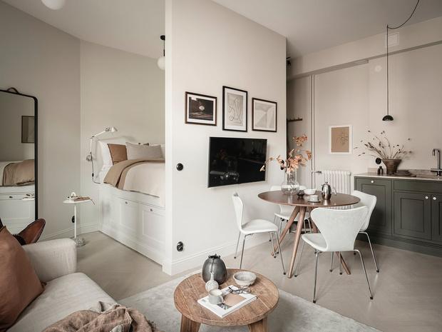Фото №15 - Уютная, светлая студия 31 м² в Гетеборге