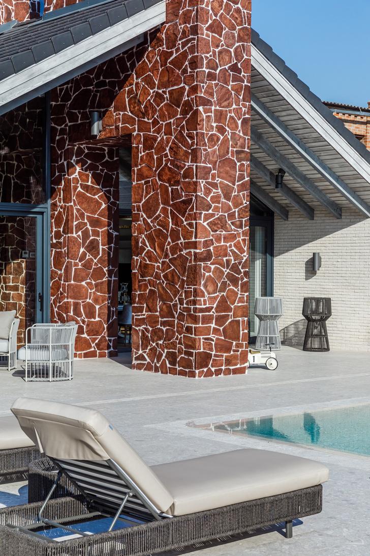 Фото №4 - Светлый дом с бассейном для большой семьи