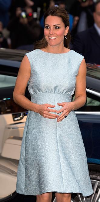 Фото №18 - В модном положении: две беременности герцогини Кембриджской (сравним?)