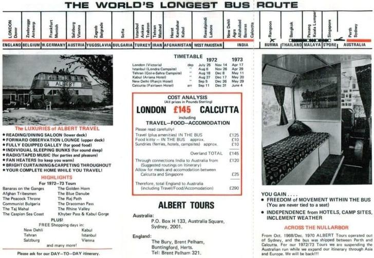 Фото №2 - Лондон— Калькутта: краткая история самого длинного автобусного маршрута в истории