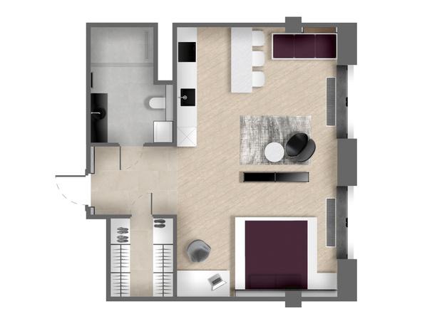 Фото №11 - Апартаменты в стиле минимализм на Маяковской
