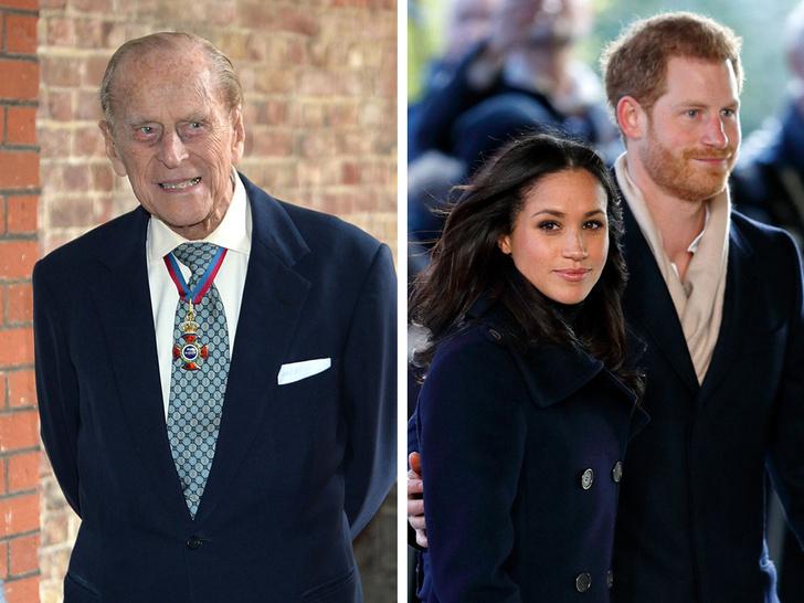 Фото №1 - Из-за чего принц Филипп разозлился на Гарри и Меган перед их свадьбой